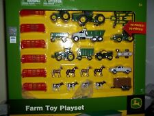 ERTL JOHN DEERE FARM TOY PLAYSET 70 PIECES 1/64 SCALE