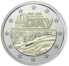 2 Euro commemorative 2014 France - Frankreich* D-Day