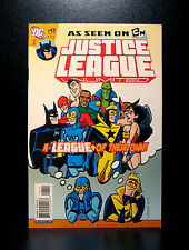 COMICS: DC: Justice League Unlimited #43 (2008) - RARE (figure/batman/flash)