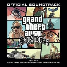 CD SET Grand Theft Auto San Andreas Official Soundtrack 2 disc NEW SEALED