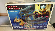 Japanese pokemon UR gigantic giratina figure CIB,centre 2008,promo,figure,mint