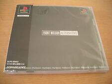 FRONT MISSION ALTERNATIVE PS1 JAPAN IMPORT NEW SEALED
