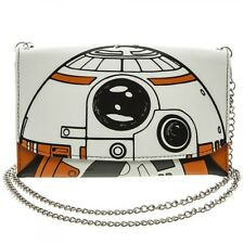STAR WARS EPISODE VII THE FORCE AWAKENS BB-8 ENVELOPE CHAIN WALLET CLUTCH PURSE