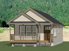 18x40 Tiny House -- 720 sqft -- PDF Floor Plan -- Model 1A