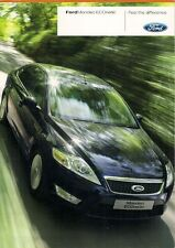Ford Mondeo ECOnetic 1.8 TDCi 125 2008-09 UK Market Foldout Sales Brochure