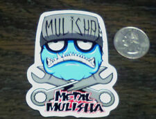 METAL MULISHA Wrench Head Sticker Car Window Decal Riding Gear Nitro Circus MX