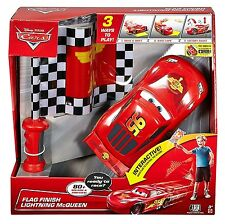 New Disney Cars Flag Finish Lightning McQueen RC Interactive 80 Sounds & Phrases