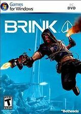 New Brink First Person Shooter FPS Game for Windows PC new in sealed package