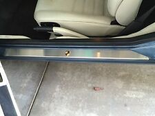 PORSCHE 944 968 924 951 CUSTOM STAINLESS STEEL DOOR SIILL COVERS WORLDWIDE SHIP!