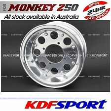 "KDF ALLOY WHEEL RIM 4.00x8"" FORGED BIKE 4.0 FOR HONDA MONKEY Z50J"