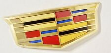 Cadillac XTS 2016 TRUNK REAR CREST OEM NEW STYLE!! 24K GOLD PLATED!!