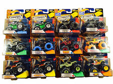 Hot Wheels Monster Jam 2016 Case J 21572-984J Soldier Fortune Black Ops Max-D