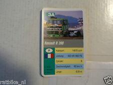 58- RENN TRUCKS 3A RENAULT R390  KWARTET KAART,CARD