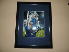 Signed 12x8 photo  Mounted and Framed Torres Chelsea  COA