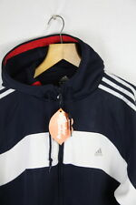 VINTAGE Mens ADIDAS Hoodie ZIPPER Jacket XL CLIMA WARM URBAN BOXING Sweater P7