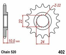 KR Ritzel 16Z Teilung 520 BMW 650 Xcountry 07-08 New... front sprocket