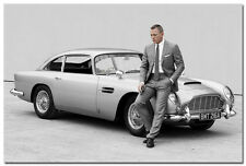 James Bond 24 - Spectre 007 Movie Silk Poster 24x36 inch 002