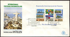 Netherlands Antilles 1983 Brasilana Stamp Exh. M/S FDC First Day Cover #C26742