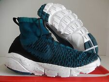 NIKE AIR FOOTSCAPE MAGISTA FK FC FLYKNIT MIDNIGHT TURQUOISE SZ 10 [830600-300]