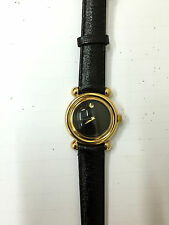 Orologio movado museum donna SWISS pelle nera 87.A1.825 WATCH black LEATHER new