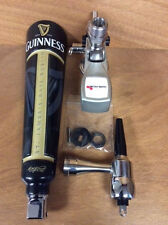 "Guinness Beer Tap Handle with Faucet & Micro Matic! New! Free Ship! 16.5"" Tall"