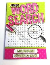 Word Search Puzzles Green Book Large Print Children Art & Craft Learning Fun