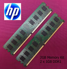 2 x 1GB (2GB) DDR1 Memory Upgrade RAM Kit HP Compaq EVO D510 Tower Computer