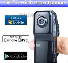 Mini micro WiFi Web Caméra Sans Fil IP MD81S Carte Amovible pour Android iPhone