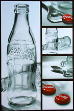 Coca Cola Bottles and Caps Images - Brand New Licensed Art Poster
