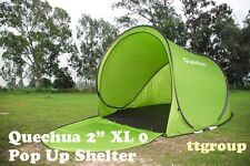 Quechua Waterproof Windproof Pop Up Camping Tent 2 Seconds XL 0, Beach Shelter