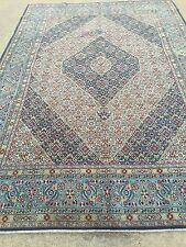 Hand Knotted Mood-Mashad-Persian Oriental Rug carpet 7 x 10,6' 11'' x 9' 11''