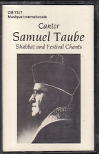 Samuel Taube - Shabbat and Festival Chants (Cassette, 1993, CM-7317) NEW Cantor