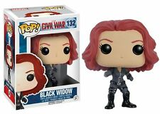 Funko Pop! Vinyl Bobble-Head Marvel: Captain America 3 - Black Widow #132