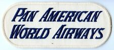 Great 1940's Pan Am Uniform Back Patch