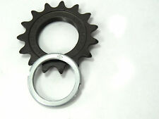 Campagnolo Alloy Track Cog & lockring Record SL 15T French Vintage 763/A NOS