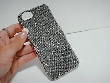 Silver Gray Swarovski Elements & Crystals White Bling Case Cover iPhone 7 Plus