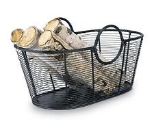 Achla Minuteman Fire Wood Log Basket - Steel Wire Basket - Small WI-08
