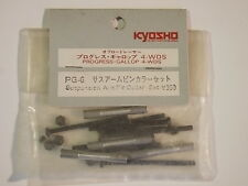 PG-6 Suspension Arm Pin Collar Set - Kyosho Progress 4WDS Gallop 4WDS