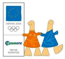 COSMOTE GRAND SPONSOR MASCOT LOGO - ATHENS 2004 OLYMPIC GAMES PIN