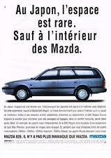 PUBLICITE   1991   MAZDA    LA 626  WAGON