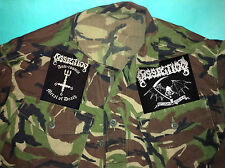 Dissection Anti-Cosmic Black Metal Of Death Reaper Camouflage Army Shirt Jacket
