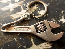 TRUE VINTAGE 70s Mini Wrench mechanic KEYRING/KEYCHAIN/FOB