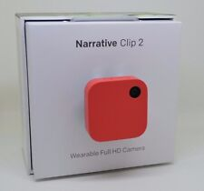 Narrative Clip 2 Wearable Full HD Camera 1080p 8GB w/ Built in GPS NO RESERVE