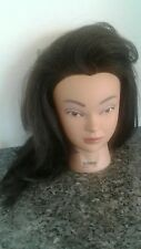 Cosmetology Mannequin Head Selena Burmax Human Hair Pivot Point