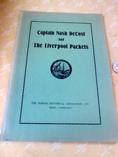 CAPTAIN NASH De COST & The LIVERPOOL PACKETS,1955,Clement Cleveland Sawtell,Ills