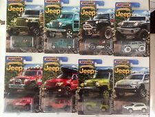 2016 Matchbox JEEP Anniversary Edition Set of all 8 EIGHT Walmart Exclusive