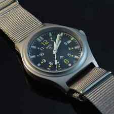 MWC G10 SL Military Watch Grey Strap, Date Tritium 100m Water Resistance NEW BOX
