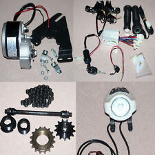 Tools + Power Charger Brush Geared Motors Kits Bike Bicycle Conversion 24V 250W