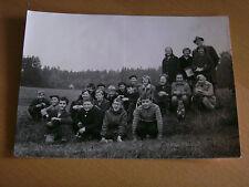 Foto AK 12K587 Schulklasse auf Wanderung