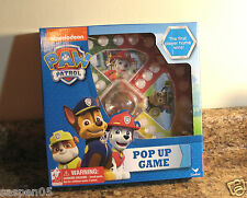 Nickelodeon Paw Patrol Pop Up Game 2 To 4 Players NEW